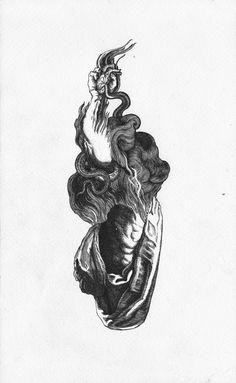 Ink Pen Drawings, Cool Drawings, Gothic Pattern, Hipster Art, Occult Art, Tattoo Project, Dark Tattoo, Sad Art, Flash Art