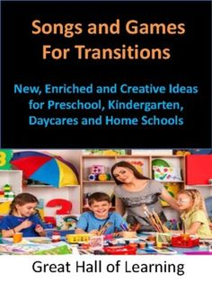 Over 35 pages of new, creative and enriched ideas for pre-school, kindergarten, daycares and home schools. Note to the Teacher: Before you start, please read this noteWhat is a Transition?: This clearly explains the different transitions that we go through during the day.Successful Transitions: Extr...