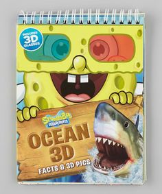 Take a look at this SpongeBob SquarePants Ocean 3-D Paperback by US Media on #zulily today!
