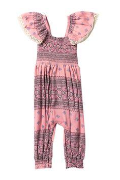 b5585112ed7 Baby And Toddler Girls Short Sleeve Floral Print Knit Cold Shoulder ...