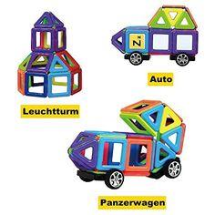 Zeagoo Baby Lernspielzeug Staffelei Magnetic Doodle Kinder aus Holz Zeichnung Tafel 3D Holz malen Tool ab 3 Jahren