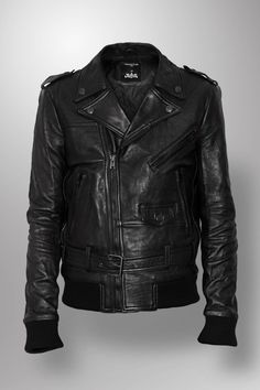 Surface to Air for JUSTICE! leather jacket for men