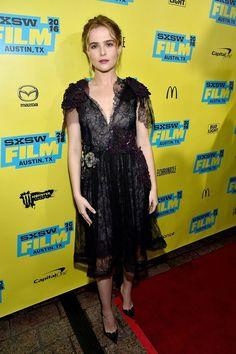 Zoey Deutch wore a #Rodarte Spring 2016 black lace dress to the #SXSW premiere of #EverybodyWantsSome. #SXSW2016  The Fashion Court (@TheFashionCourt) | Twitter