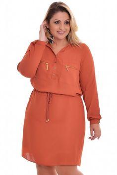 Vestido Plus Size Milão