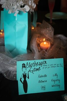 Give every guest a clothespin and a list of words that are off-limits. If you catch someone saying one of those words, take away their clothespin. The guest with the most clothespin at the end of the shower wins a prize. Works for both baby and wedding showers.