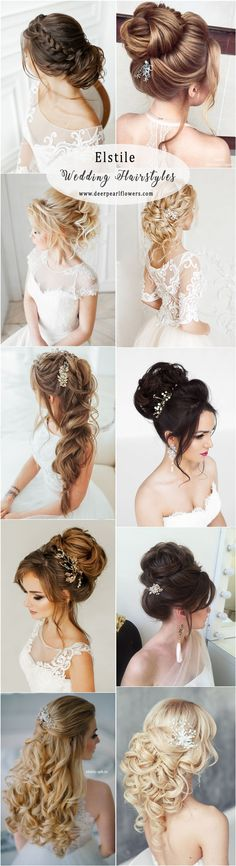 Elstile wedding hairstyles updos for long hair #weddingideas #hairstyle #fashion #wedding http://www.deerpearlflowers.com/long-wedding-hairstyles-from-top-8-hairstylists/