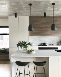 Gorgeous Luxury White Kitchen Design and Decor Ideas - Luxury Kitchen Remodel Luxury Kitchen Design, Kitchen Room Design, Contemporary Kitchen Design, Home Decor Kitchen, Interior Design Kitchen, Home Kitchens, Kitchen Ideas, Luxury Kitchens, Kitchen Designs