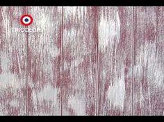 Tutorial: Decora un mueble atemporal, color turquesa con efecto metálico y acabado Chalky - YouTube