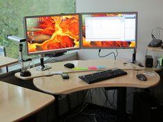 Biomorph Flexo Desk with Maple Surface Finish
