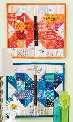 Quilt Patterns in the Current Issue of Quilter's World