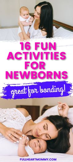 Wondering what to do with your newborn baby? The good news is that entertaining newborns is fairly easy! Use these ideas to plan infant activities that will entertain you both, stimulate your baby and help you bond. Baby Life Hacks, Baby Schedule, Baby Must Haves, Newborn Care, Baby Safe, Baby Play, Infant Activities, Free Baby Stuff, Baby Essentials