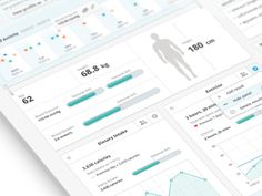 Patient Record Dashboard by Andrew Lucas UI for possible medical app? Analytics Dashboard, Dashboard Design, Dashboard Examples, Gui Interface, User Interface Design, Web Design, Medical Design, Ipad, Ui Design Inspiration
