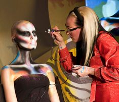 Its all about the airbrush! Go Girs...:)
