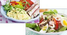 Nya – alla under 200 kalorier! 5 2 Diet, Lchf, Cobb Salad, Detox, Cabbage, Tasty, Vegetables, Ethnic Recipes, Food