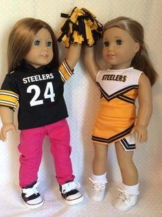 American Football Jersey Girl