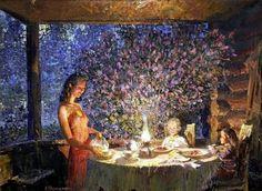 живописные веранды на полотнах разных художников. Обсуждение на LiveInternet…