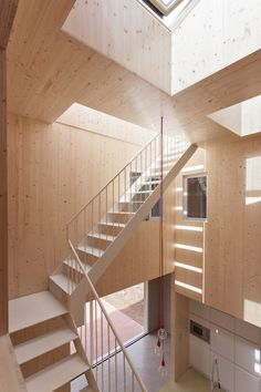 G House  / Esaú Acosta --- i love how there is a lot of play on light from light wells...wow