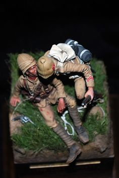 The Bench by Anders Heintz: Horan Figure of the Week, The Last Request, Spion Kop, 1899 British Army Uniform, Military Figures, Military Modelling, Inca, Miniature Figurines, British Colonial, Figure Model, Toy Soldiers, Figure Painting