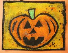 This is a very cool resist effect which I thought was suitable for Halloween art. If you don't celebrate Halloween in your school and/o...