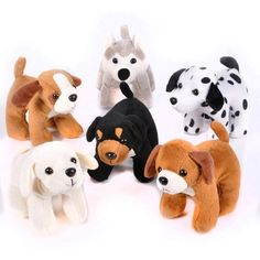 Adopt a puppy station...  Dog Assortment - 12 per pack SmallToys https://smile.amazon.com/dp/B006ZNGZLY/ref=cm_sw_r_pi_dp_x_ACs9xb08852P7
