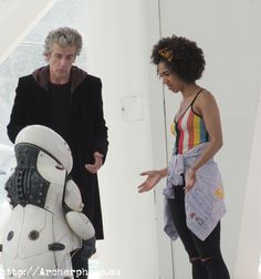 The Doctor and Bill                                                                                                                                                      More