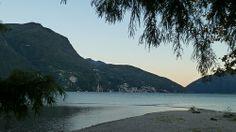 Embouchure du Fiume Cassarate dans le Lago di Lugano