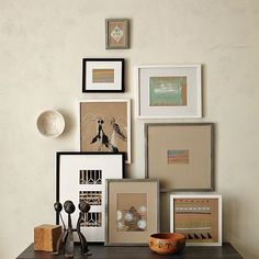 I love the Gallery Frames on westelm.com