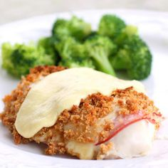 Chicken Cordon Bleu - Made for Easter dinner -good and easy!  I used small chicken breasts, not pounded flat. Baked for 35 minutes.