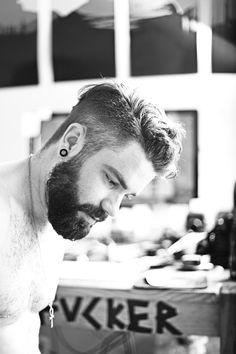 Hair, beard
