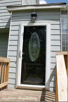 Front Doors With Storm Door larson storm door with hidden screen on top. i had one before and