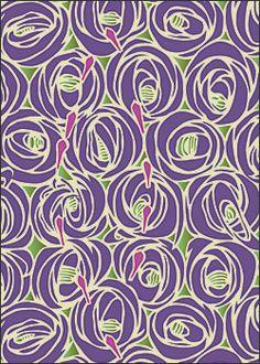 "Charles Rennie Mackintosh's Rose and Teardrop 5 x 7"" Notepad"
