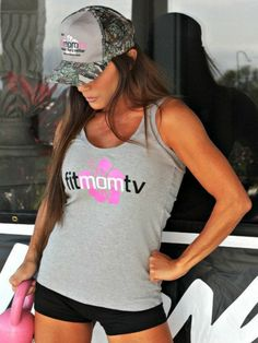 Daily Deal! Heather Gray Fit Mom TV Tank Top $9.99, reg. $19.99