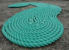 Decoreba Design: DIY – Tapete de corda