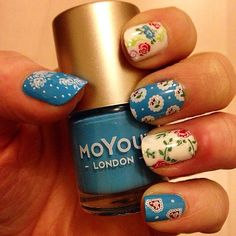 #moyoulondon #cathkidston #nailstamping #stampingnailart #reversestamping #yourmagicworkshop @moyou_london
