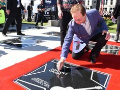 Tommy Cash at Music City Walk of Fame