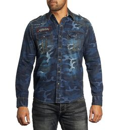 Affliction Clothing | Vertigo Spin