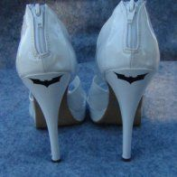 batman wedding shoes