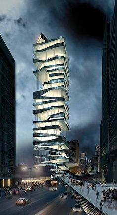 parking tower   meta-project...I don't know where this is but I NEED to personally see it one day!