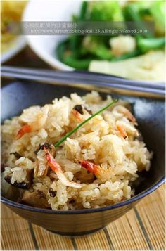 櫻花蝦鴨賞蒸糯米飯