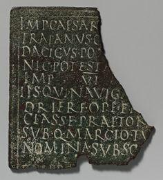 Fragment of a military diploma [Roman] (23.160.52)   Heilbrunn Timeline of Art History   The Metropolitan Museum of Art