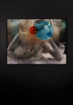 Acrylic coated Fine Art Giclée print Size: 120 cm x 90 cm Certified and signed Art Series, Giclee Print, Fine Art, Contemporary, Interior, Artwork, Painting, Design, Kunst