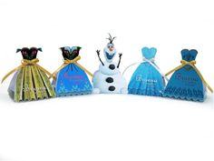 30 Forminhas Princesas Frozen G