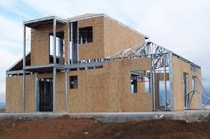 Building your Container Home Steel House, Metal Structure, Steel Buildings, Shipping Container Homes, Modular Homes, Cabin Homes, Steel Frame, Building A House, House Design