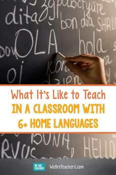 It's Not Uncommon for Schools to Have Dozens of Home Languages—And Our Classrooms Should Reflect That Classroom Tools, Online Classroom, School Community, Classroom Community, English Language Learners, Foreign Language, Curriculum Night, World Language Classroom, Global Awareness