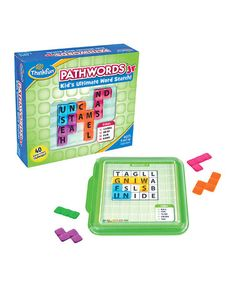 The PathWords Jr. Game is another fun game by @thinkfun. My older children love it and I like that it helps them think more abstractly as they look for the word trails.