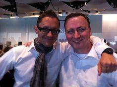 Zusammen mit Olf Stoiber in London