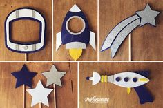 Galactic Photo-Booth Prop Set | Space Photo-Booth Props | Astronauts and Aliens Props | Stiff FELT and Soft FELT by Perfectionate on Etsy https://www.etsy.com/listing/514139119/galactic-photo-booth-prop-set-space