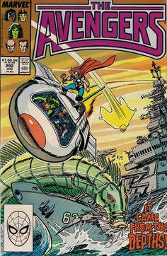 AVENGERS # 292  MARVEL COMICS  WALTER SIMONSON / JOHN BUSCEMA  1988  vf+(8.5) ~~