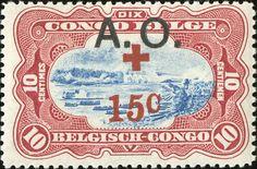 German East Africa - Belgian occupation 10c+15c [MiNr 26, Sc NB2]