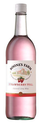 Boone's Farm ~ Strawberry Hill, for the discerning teenaged drunkard, ca. 1967.